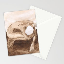 """""""Time and Death and God"""" [Series Part 2] Stationery Cards"""