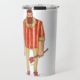 The Woodchop Travel Mug