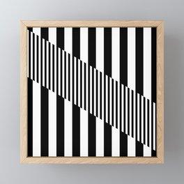 Mod Slash Framed Mini Art Print