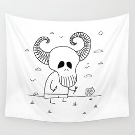 Death Pizza Party Wall Tapestry