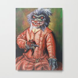 Portrait of a Little Critter Metal Print