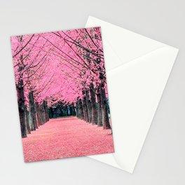 Korea Spring - Nami Island Stationery Cards