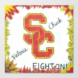 USC for Valerie Canvas Print