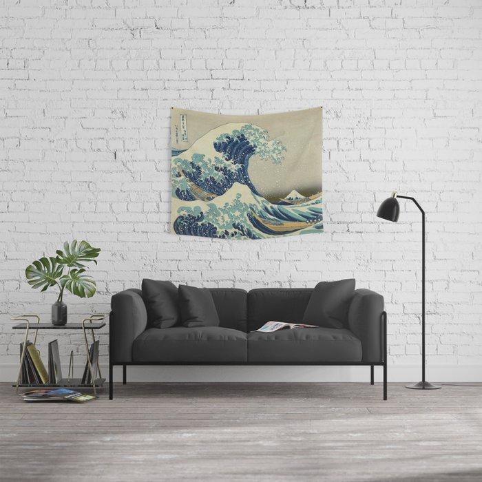 The Great Wave off Kanagawa Wall Tapestry
