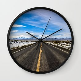 Road Trip Wall Clock