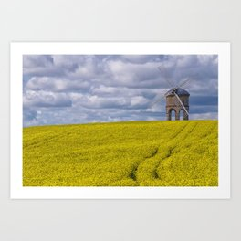 Chesterton Windmill in Warwickshire, United Kingdom Art Print