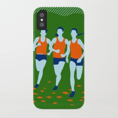 Stars of Track and Field are Beautiful People Slim Case iPhone X