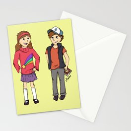 The Mystery Twins Stationery Cards
