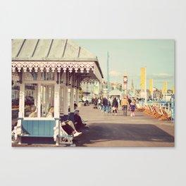 A summer walk Canvas Print