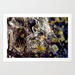 mech art 1 Art Print