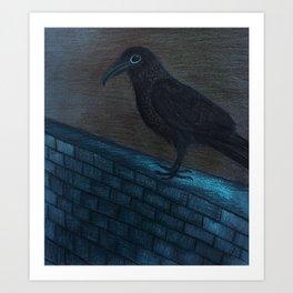 Raven Eye Art Print