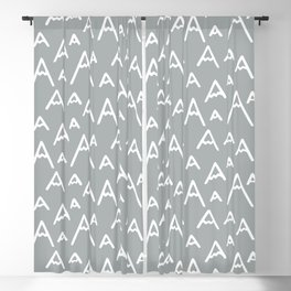 The Mountains are Calling | ultimate gray Blackout Curtain