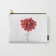 Boy with grapes - NatGeo version Carry-All Pouch