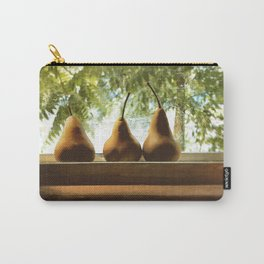 Summer Pear Ripening By Screened Window Carry-All Pouch