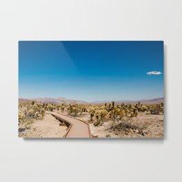 Joshua Tree National Park Cactus Garden Metal Print