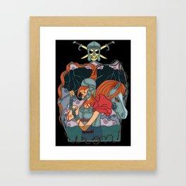 Iron soldier Framed Art Print