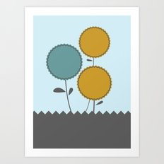 Country Flora Art Print
