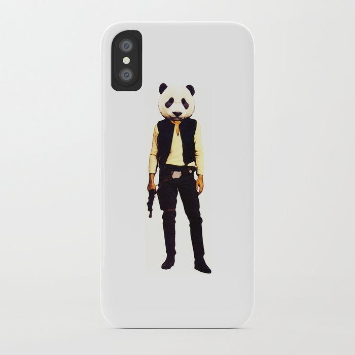 Pan Solo iPhone Case