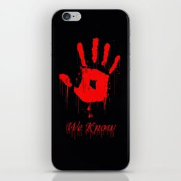 Hi five iPhone Skin