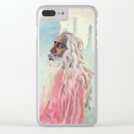 A Peaceful Glance Clear iPhone Case