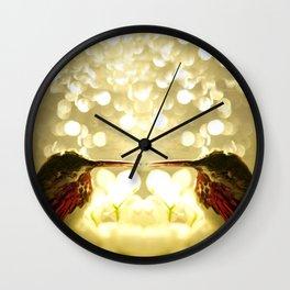The Sleeping Hummers... Wall Clock