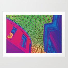 British (Color) Invasion Art Print