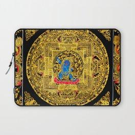 Buddhist Mahakala Mandala Golden Kalarupa Laptop Sleeve