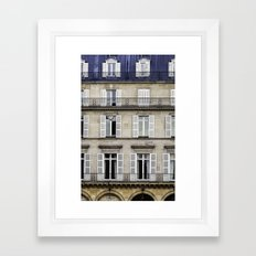 French Architecture Framed Art Print