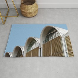 Minimalist Architecture in Germany Rug