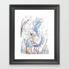 Sirène Framed Art Print