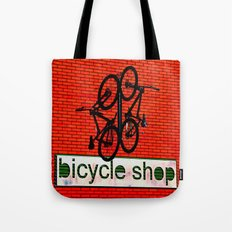 Bicycle Shop Tote Bag