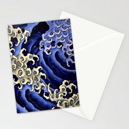 "Hokusai (1760–1849) ""Masculine wave"" Stationery Cards"
