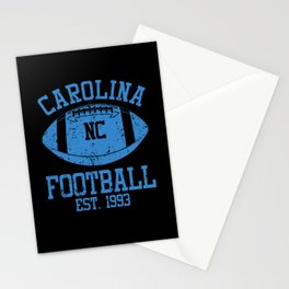 Carolina Football Fan Gift Present Idea Stationery Cards
