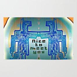 Nice to meet You / Robotic Lab Rug