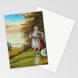 Edward Hicks  -  Peaceable Kingdom Stationery Cards