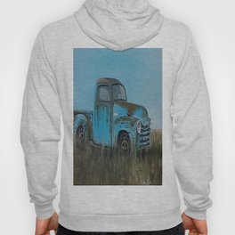 Old Blue Chevy Hoody