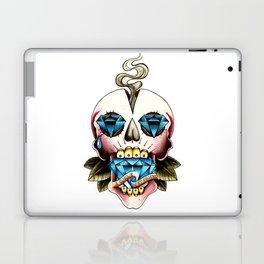 Diamond Skull Laptop & iPad Skin