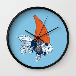 Big fish in a small pond Wall Clock