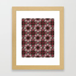 Oriental Ornate Pattern Framed Art Print