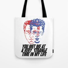strange time in my life Tote Bag
