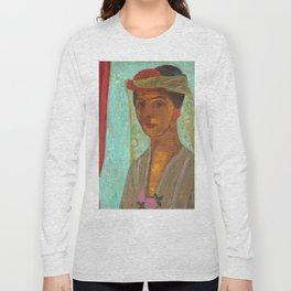 Paula Modersohn-Becker Self Portrait Painting Long Sleeve T-shirt