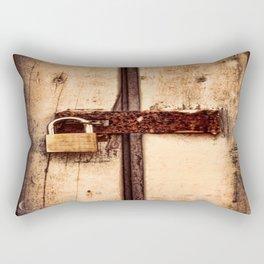 The Lock Rectangular Pillow