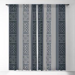 Viking grey Blackout Curtain