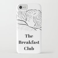 the breakfast club iPhone & iPod Cases featuring The Breakfast Club  by Luster