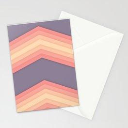 Vintage Zig Zag Pattern Stationery Cards