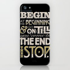 Begin at the Beginning iPhone (5, 5s) Slim Case