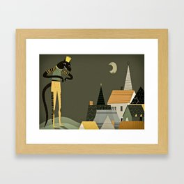 rat king Framed Art Print
