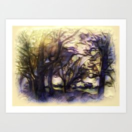 The Forest Of Hope Art Print