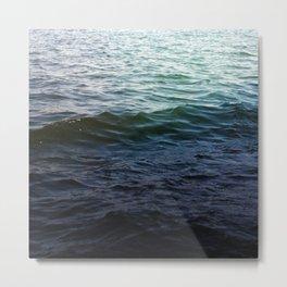 West Lake Waves Metal Print