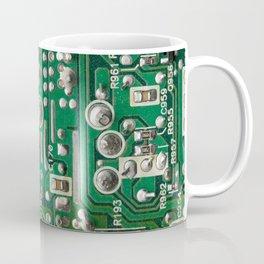 Circuit Board Macro Coffee Mug